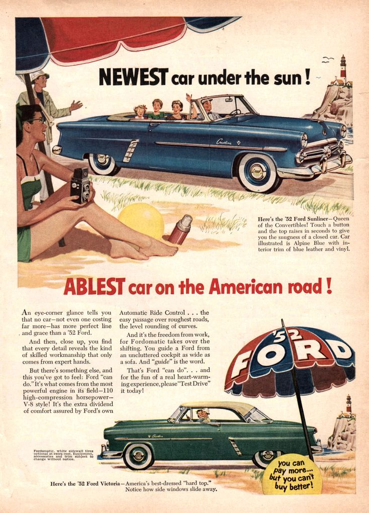 192 best Vintage Auto Ads images on Pinterest | Old school cars ...