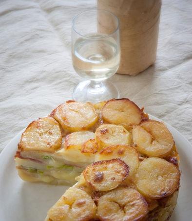 Oggi torta di #patate con mele e speck: prova la ricetta! #cucina