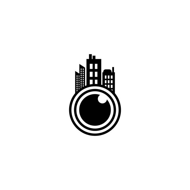 Lens Camera And Town Logo Designs Inspiration Isolated On White Camera Icons Logo Icons White Icons Png And Vector With Transparent Background For Free Downl In 2020 Camera Logos Design Photo