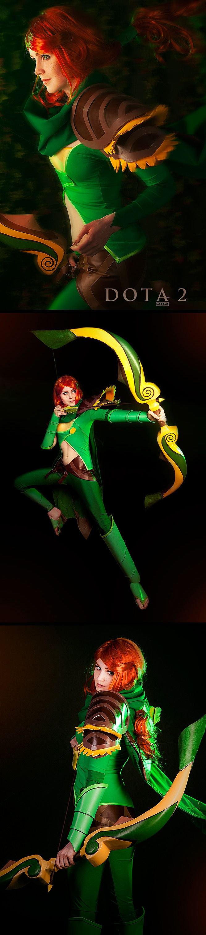 Windrunner from DOTA 2 #cosplay