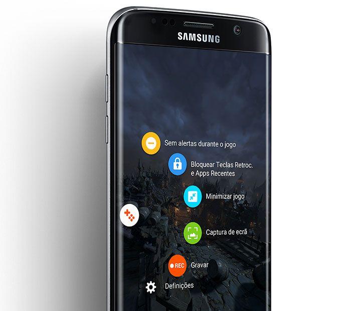 Smartphone Samsung Galaxy S7 Edge (G935) Preto, Octa Core 2.3Ghz, Android 6.0, Tela Super Amoled 5.5 Polegadas, 32GB, 12MP, 4G, Desbloqueado - Balão da Informática