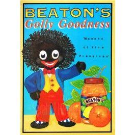 Beaton 39 S Golly Goodness Golliwog Tin Sign From Sarah J