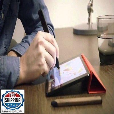 Digital Pencil Stylus Slim Graphite Design Onboard Eraser IPhone IPad Pro USB