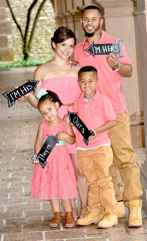 Fun Engagement Photo With Kids Taken By Jackie Franco