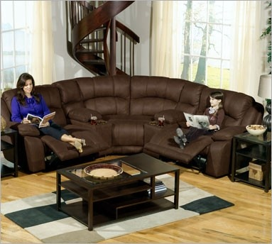 Captivating Catnapper Compass 5 Piece Sectional Sofa In Espresso   Transitional   Sectional  Sofas   By Cymax