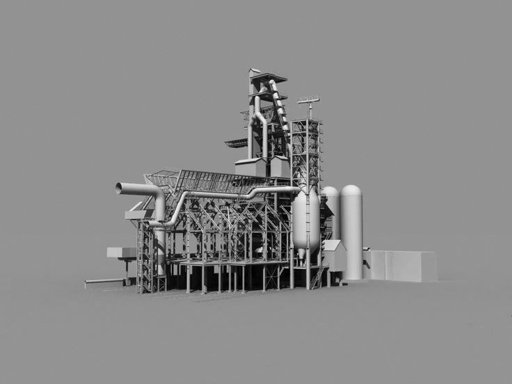 Building for metallurgical enterprises