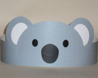 Mouse Paper Crown Printable by PutACrownOnIt on Etsy