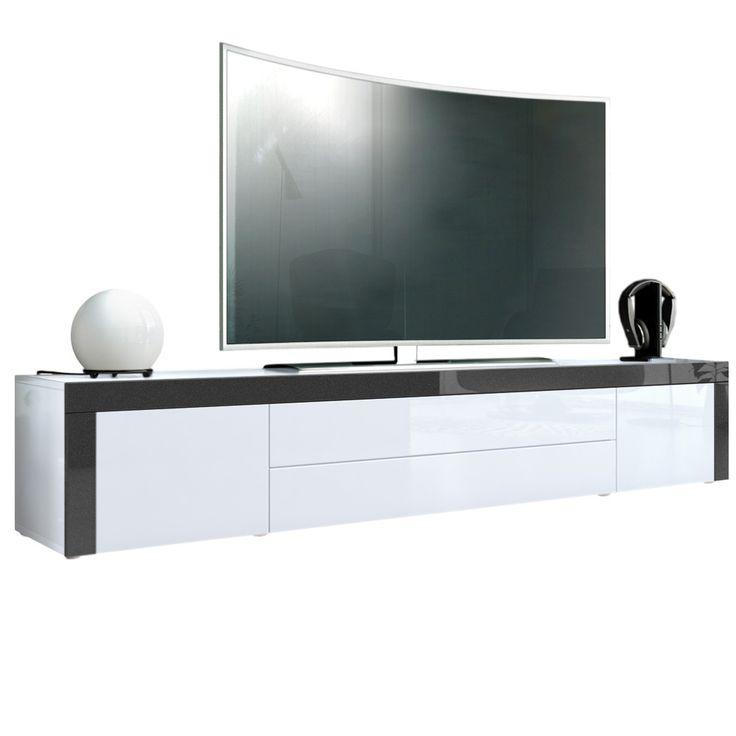 Yli tuhat ideaa Tv Unterschrank Pinterestissä Tv lowboard - küchen unterschrank weiß hochglanz