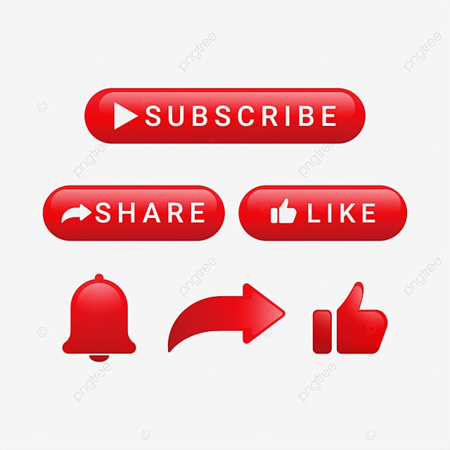 Subscribe Button With Share And Notification Subscribe Button Share Png And Vector With Transparent Background For Free Download Youtube Banner Design Youtube Banner Backgrounds Youtube Design
