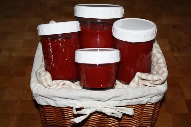 Kittencal s Easy Refrigerator Strawberry Jam from Food.com: Considering how easy this is to make, it makes a great strawberry jam, good on waffles, pancakes and for a cheesecake topping! It will keep in the refrigerator covered for up to 2 weeks.