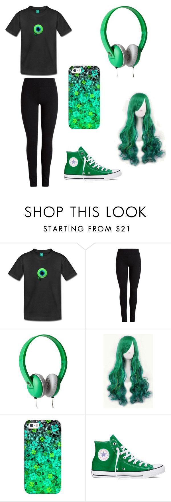 """""""Jacksepticeye inspired outfit """" by michellefaith271 ❤ liked on Polyvore featuring Skullcandy, Casetify and Converse"""