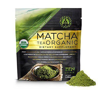 Matcha Green Tea Powder Organic ( Japanese Premium Culinary Grade )  USDA &
