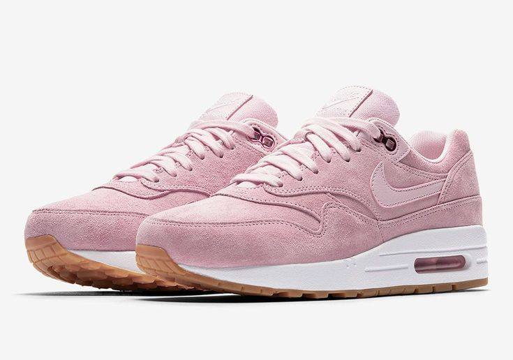 The Nike Air Max 1 Pink Suede (Style Code: 919484-600) will release later this Spring 2017 featuring premium suede touches and a gum bottom. More: