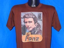 Iron-On T-Shirt Transfers - I had lots of T-Shirts with transfers that Mum ironed on for me.... including a Fonz transfer that came in the Sunday Sun newspaper!