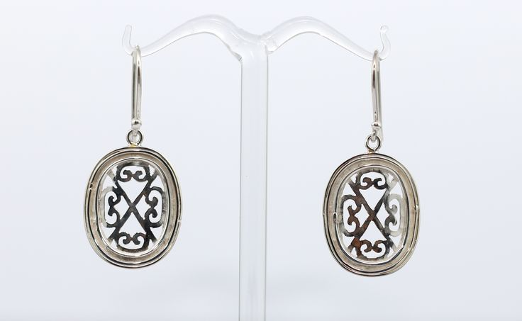 Lovely Sterling silver curved oval earrings from the: Historic Collection. Made beautifully to be a perfect little gift, or brunch, evening night out accessory to complete your outfit. Dreams Jewellery & Gifts Kalamunda #MyCaravan #sterlingsilver #Kalamunda #jewelley #myc #HistoricCollection