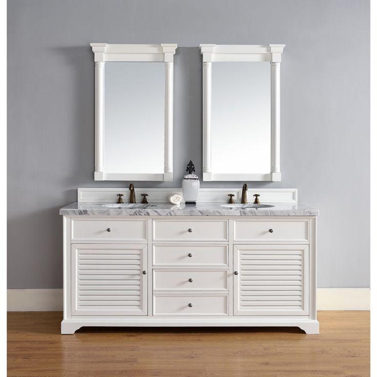 72 inch double vanity with granite top ariel hollandale