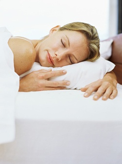 Change your pillowcase.    Sleep on a satin pillowcase for smoother hair.