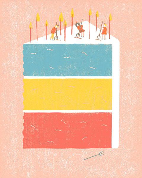 25+ Best Ideas About Cake Illustration On Pinterest