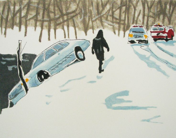 """The Icestorm"" © #RichardBosman 2006 #etching #intaglio #printmaking #contemporaryart"