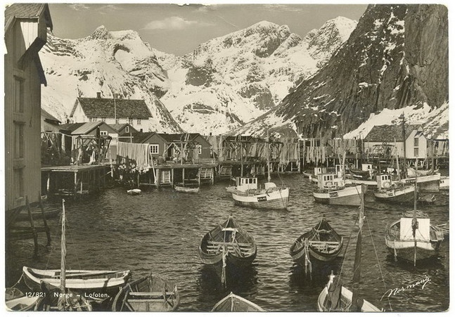 Lofoten 1938. Hammoy  http://lofotbilder.origo.no/ by Geir.S