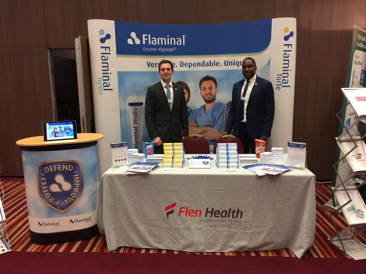 Come & say hello to the Flen health team. #diabeticfootconference#flenhealth #flaminal #diabetes