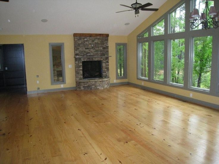 Wide Plank Authentic Pine Floors Unfinished Southern