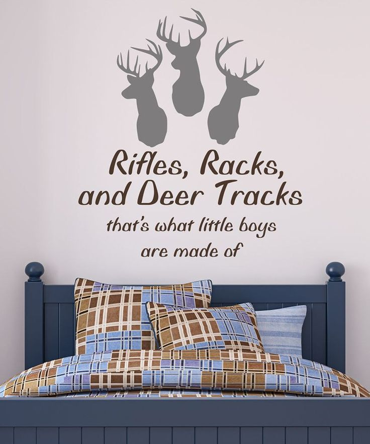 Deer Heads Wall Decal Set | Daily deals for moms, babies and kids