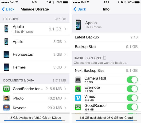 Quickly And Wisely Reducing Your iCloud Footprint | iLounge Article