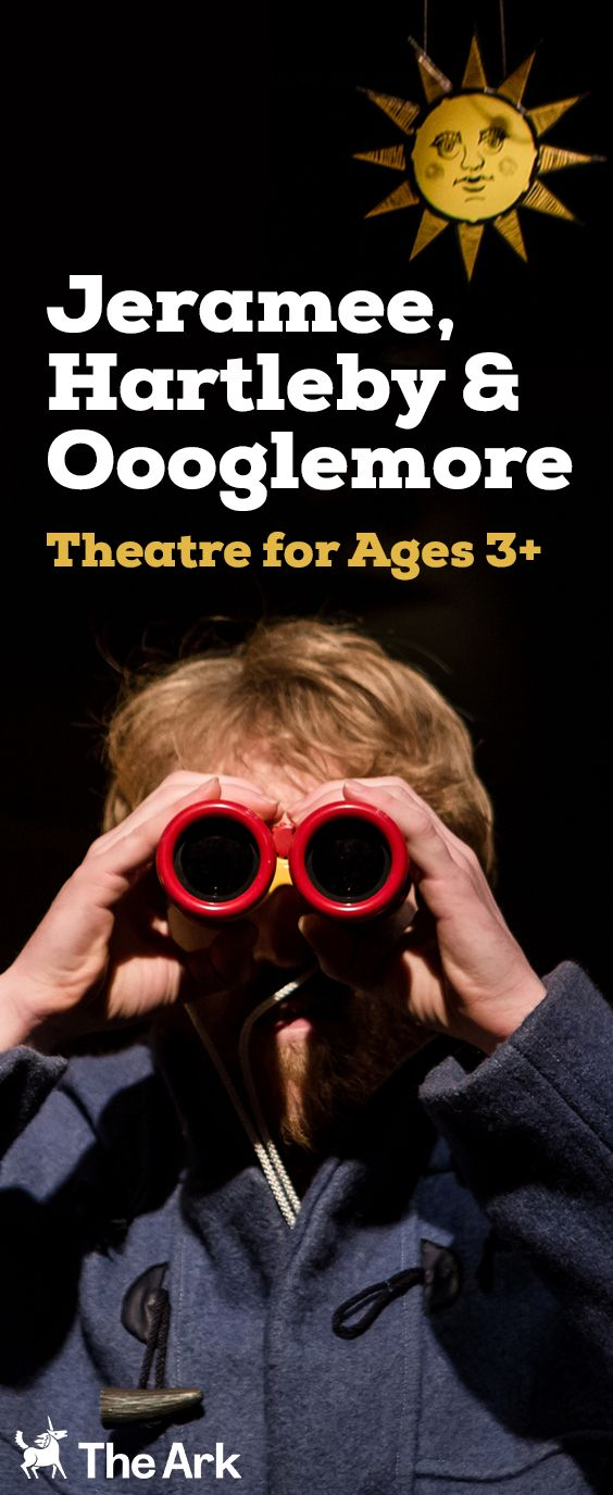 """For the first time in Dublin! It's not what you say, it's how you say it in this """"stupidly lovely show… that offers a child's eye view of the world and all its mysteries"""" (The Guardian), for ages 3+ from the Unicorn Theatre in London. #Theatre #ChildrensTheatre #EarlyYears #ThingstodowithChildren"""