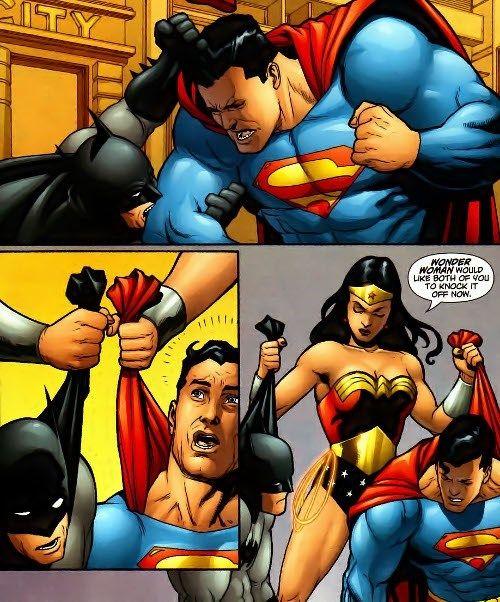 Leaked plot of Batman v Superman