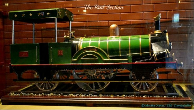 A model of Fairy Queen Steam Engine, displayed at the Rail section of the museum. 🚂  #steamlocomotive #steamengine #train #rail #indianrailways #heritage #transport #museum #vintage #vintagecollection #explore