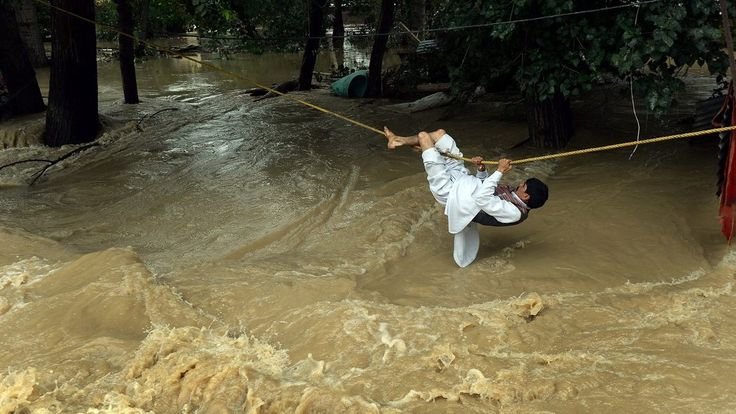 Week long rains have caused flooding in the northern regions of India and Pakistan. The average depth of six feet of flood waters has slowed all rescue and communication efforts. With more than 200 dead in Pakistan and 100 in India, many survivors are using social media in attempts to find their families.