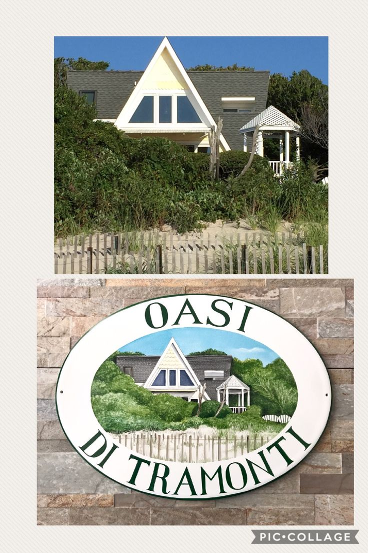 A House Portrait Make Your Home Personalized! Custom Sign Adds A Touch Of  Personality And