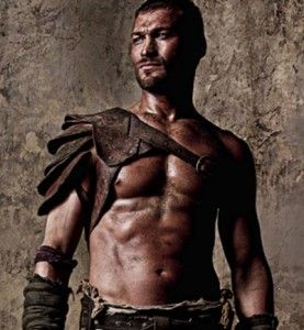 Spartacus, if you like 300, than this very graphic tv series is something for you.  Lots of blood, rage, death, honour, weapons and lust that goes along with very naked bodies.  Sadly the actor, that portrayed spartacus so perfectly, Andy Whitfield, died at the age of 39 of cancer in 2011. He will be missed...