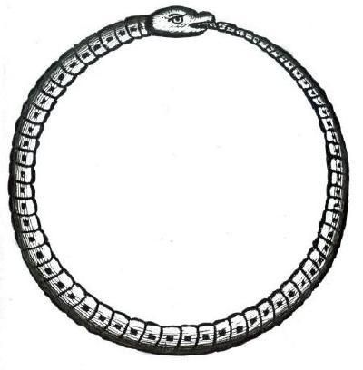 Ouroboros. In alchemy, the ouroboros represents the spirit of Mercury (the…