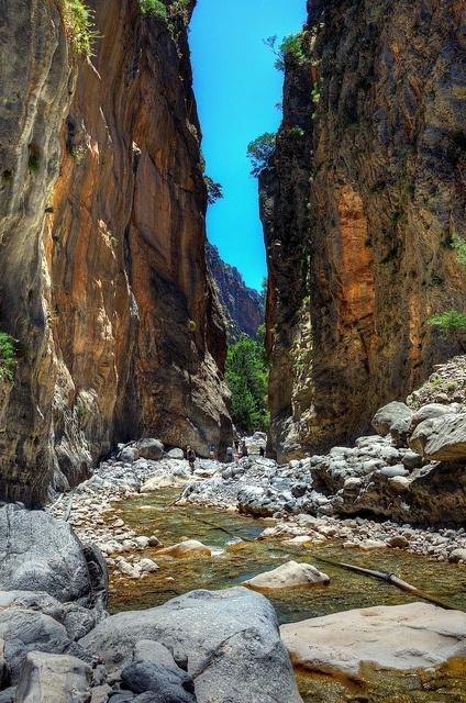 Crete Samaria gorge