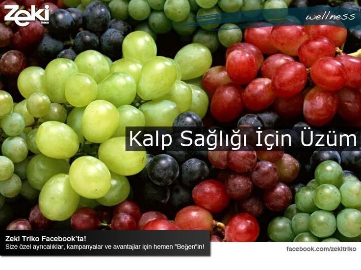 Üzüm, antioksidan bakımından çok zengin bir meyvedir. Kalp hastalıklarından korunmak ve bağışıklık sisteminizi güçlendirmek için üzümden faydalanın.