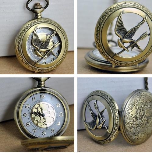 Mockingjay pocket watch. It exists.