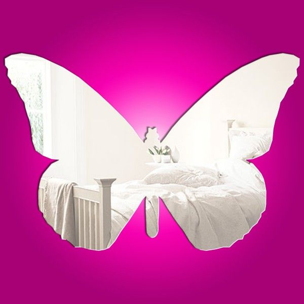 Butterfly Plain Mirror   29cm X 19cm £20.00