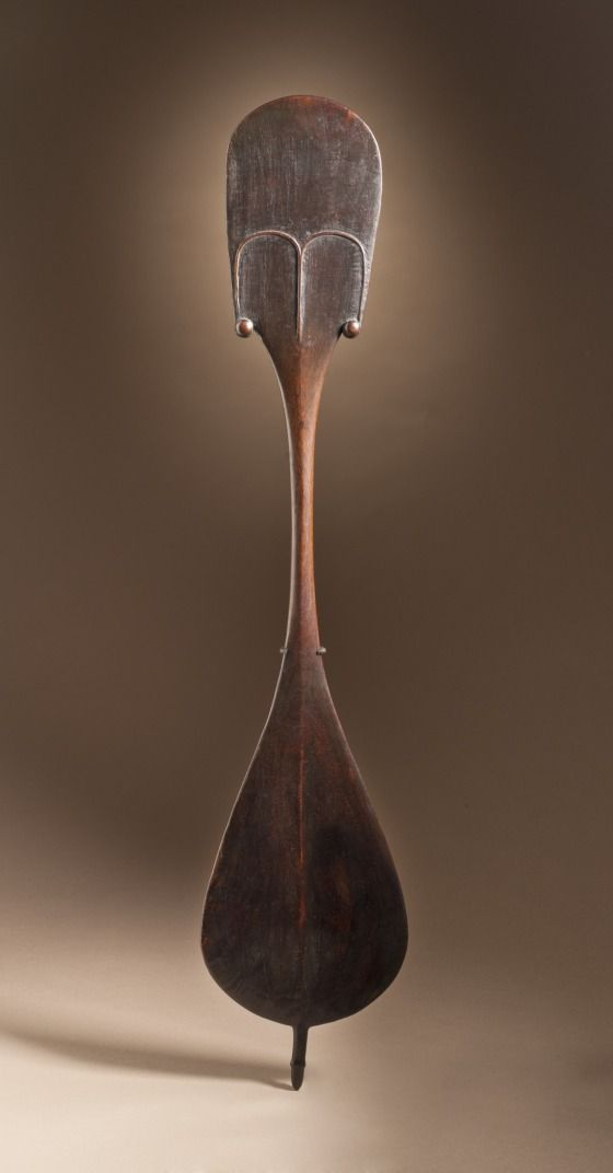 Dance Paddle (rapa), Easter Island (Rapa Nui), circa 1800, Sculpture, Wood | LACMA Collections