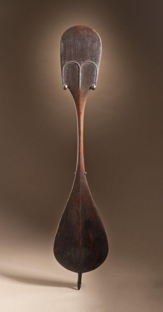 Dance Paddle (rapa), Easter Island (Rapa Nui), circa 1800, Sculpture, Wood | LACMA Collections