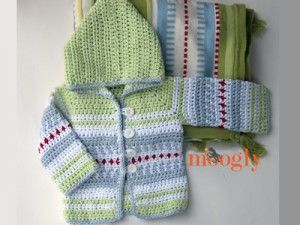 Crafting for the Little Man: 10 Free Crochet Cardigan Sweater Patterns for Baby Boys!