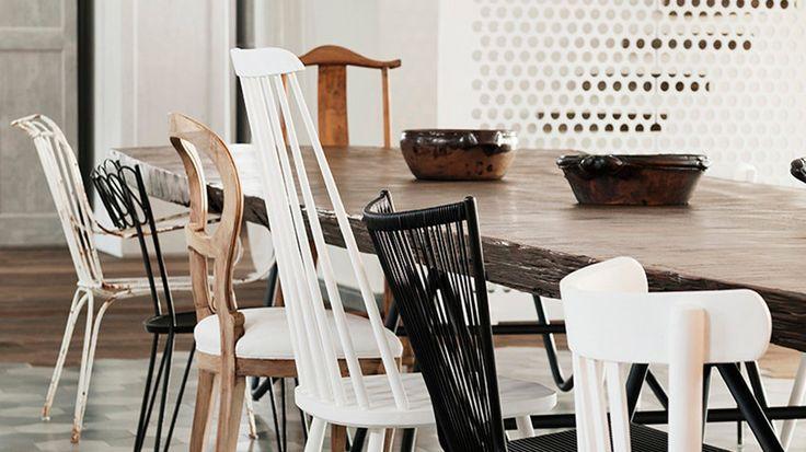 Misturar cadeiras, pode? #decor #decoration #decoração #cadeiras #chairs #saladejantar #dinningroom #design #dicas #inspirações #inspirations #ideias #homedecor #interiors #arquiteturadeinteriores #interiorsdesign #designdeinteriores