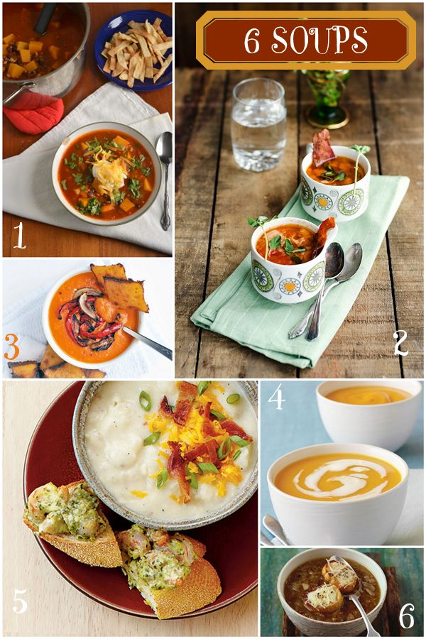 6 Comfy Cozy Soup Recipes Perfect for Winter!  Host a Souper Bowl party!