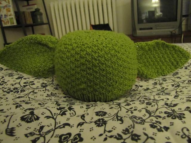 Yoda Hat @Shannon Dunk, @Amanda Cherry