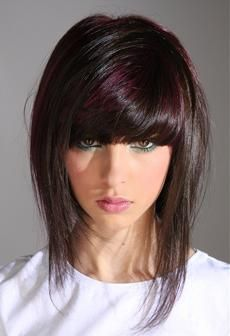 Peachy 1000 Images About Bangs On Pinterest Short Hairstyles Gunalazisus