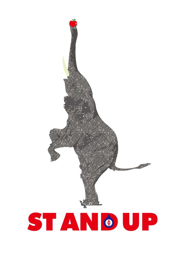 STANDUP ELEPHANT