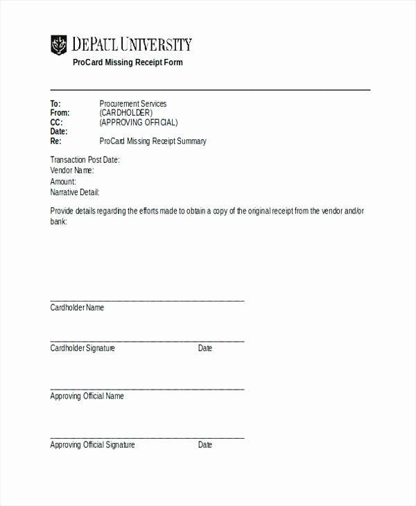 Missing Receipt Form Template Awesome Free General Affidavit Form Pdf Template Address Label Template Templates Free Receipt Template