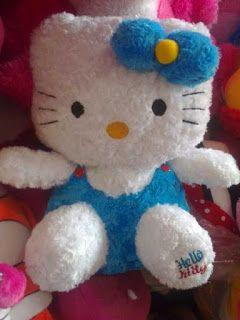 Toko Online Boneka Lucu : Bentuk Boneka Hello Kitty Yang Lucu