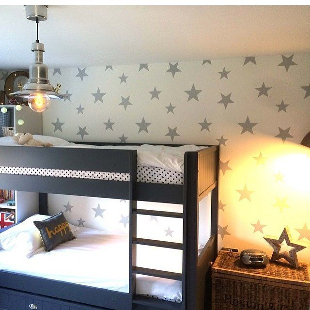 Hibou Home Stars Wallpaper From Just Kids Wallpaper Designer Wallpaper For Children S Rooms Just